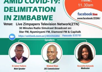 Citizen Engagement Amid COVID-19 Delimitation in Zimbabwe