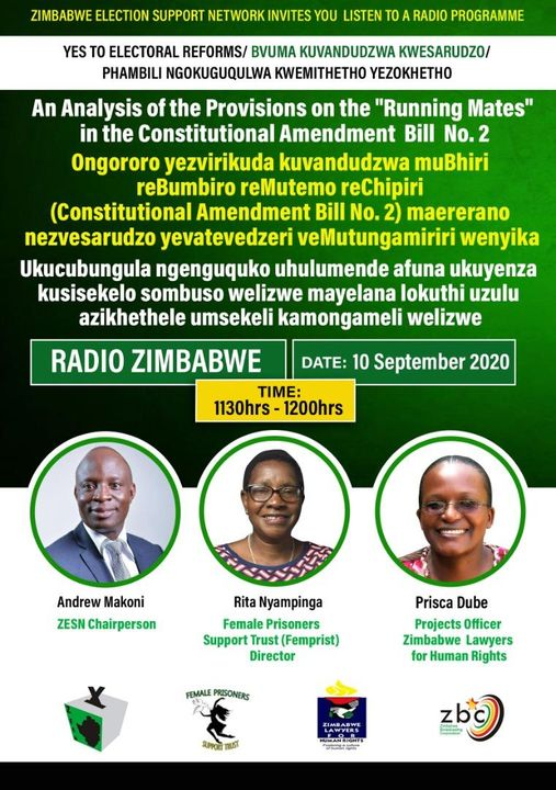"""An Analysis of the provisions on the """"Running Mates"""" in the Constitutional Amendment Bill No.2"""